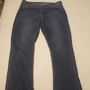 New York and Co. Curvy Bootcut Jean's. Size 14.